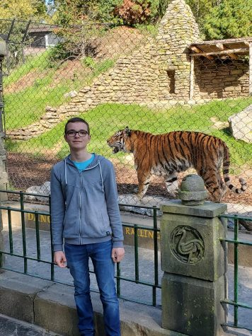 """Jan Werner went to the Henry Doorly Zoo in Omaha. """"I liked the tigers the best,"""" Werner said. Kiel has a zoo but is not a big as the Henry Doorly Zoo."""