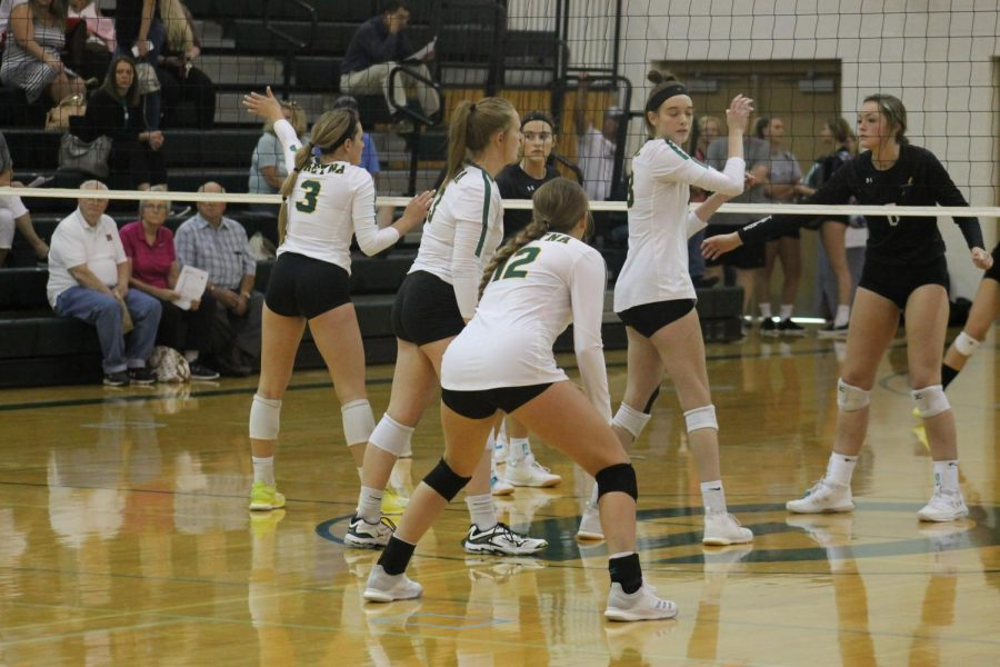 Gretna preparing for defense against Bellevue West and calling out all of their hitters.