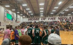 The boys basketball team competed against Papillion-La Vista on Jan 31. Gretna lost 55-52. This was Papillion-La Vista's home conference game.