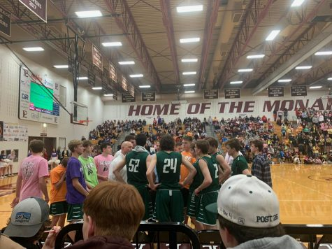 The boys basketball team competed against Papillion-La Vista on Jan 31. Gretna lost 55-52. This was Papillion-La Vista
