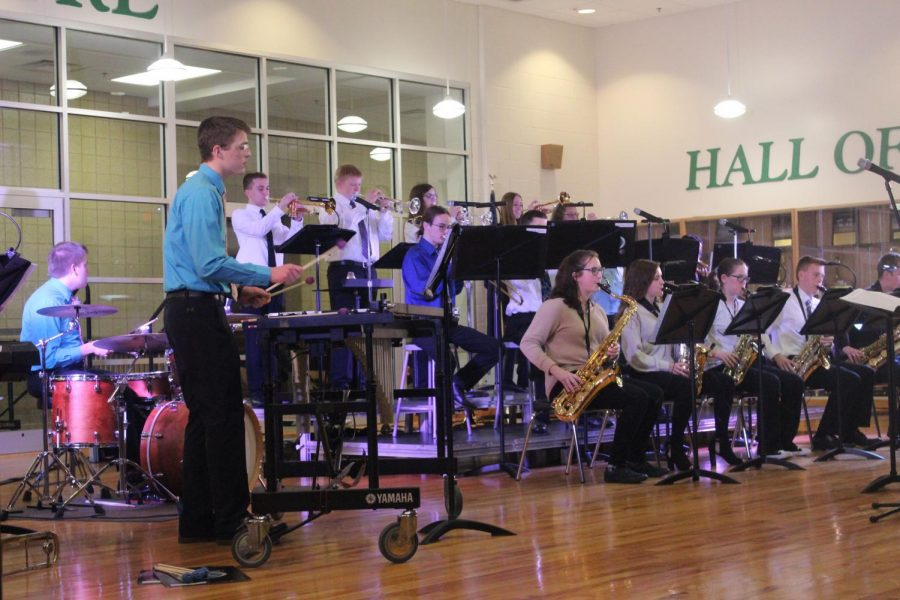 The Jazz Band performs