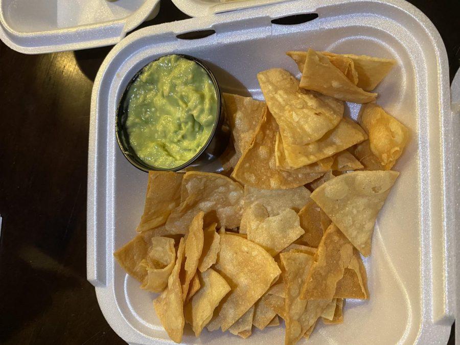El Alambre makes fresh chips and guacamole daily.
