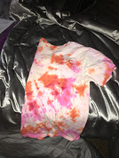 Tie-dye Swirls; Julia Otto (22) decided to put down the spatula picked up a bottle of dye to complete this masterpiece.