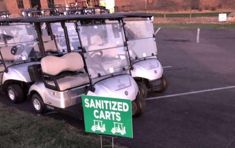 Tiburon Golf Club has changed procedures as a way to protect golfers. Every cart is thoroughly sanitized after each use.