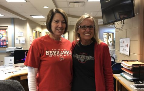 Lasting Impact: Mrs. Bulgrin and Mrs. Krajicek have worked together for 12 years.