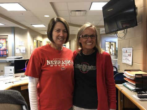 "Lasting Impact: Mrs. Bulgrin and Mrs. Krajicek have worked together for 12 years. ""She"