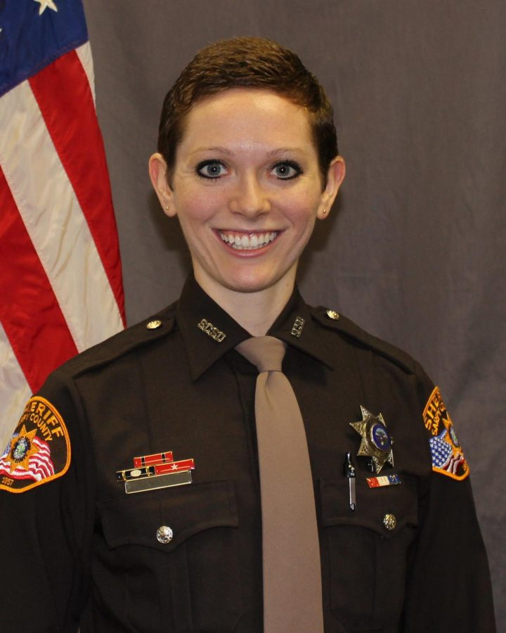 Fresh Face Sarpy County Sherrif's Office Deputy Jessica Manning will be taking over as the GHS School Resource Officer.