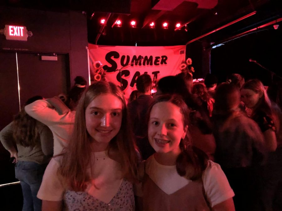 On March 10th, 2020, Bailey Stender and Grace Pemberton attended their first concert at The Slowdown.