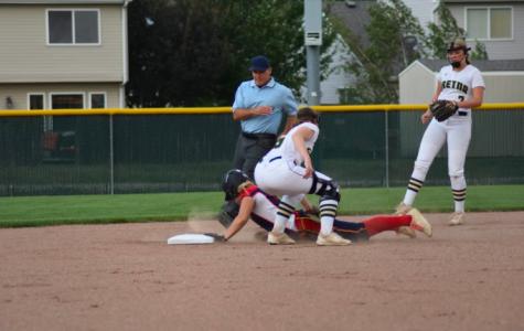 Playing Softball;