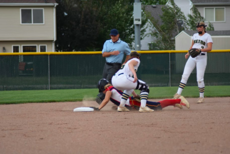 "Playing Softball; ""We will follow the NSAA guidelines and make the most of whatever time they give us,"" head softball coach Mr. Bill Heard said. ""A lot of benefit of being on a team is working together, so I really hope that isn"