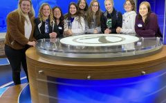 Gretna senior journalists from all publications at KETV during our careerockit day