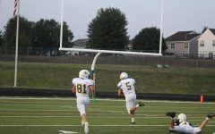 In his first game action since his second ACL tear, Connor Bulgrin hauls in a touchdown.
