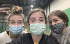 After finishing her shift at the Gretna Training Center (The GTC) junior Kiley Skokan caught up with her girlfriends.