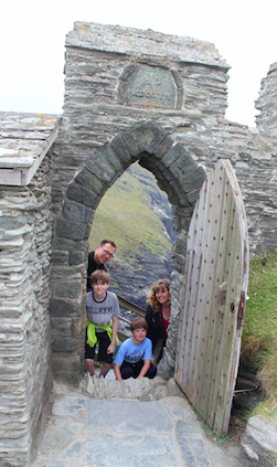 "While living in England, Mrs.Cari Whitehill and her family explore historical landmarks. ""It was a fun experience,"" Mrs. Whitehill said. ""Just travel and know a little bit about what you will get yourself into."" They lived one hour north of London."