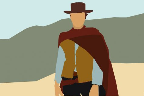 "The classic spaghetti-western ""The Good, the Bad, and the Ugly"", has held a spot as one of the most supreme pieces of film history for years. The movie is solidified as the epitome of western movies and continues to be alluded to in modern cinema. This art showcases the main protagonist: Blondie otherwise known as ""The Good."""